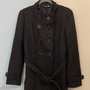Forever 21 winter pea coat size large